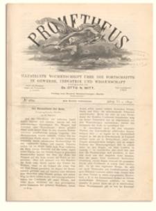 Prometheus : Illustrirte Wochenschrift über die Fortschritte in Gewerbe, Industrie und Wissenschaft. 6. Jahrgang, 1894, Nr 269