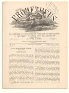 Prometheus : Illustrirte Wochenschrift über die Fortschritte in Gewerbe, Industrie und Wissenschaft. 6. Jahrgang, 1895, Nr 288