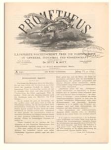 Prometheus : Illustrirte Wochenschrift über die Fortschritte in Gewerbe, Industrie und Wissenschaft. 6. Jahrgang, 1895, Nr 290