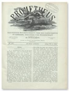 Prometheus : Illustrirte Wochenschrift über die Fortschritte in Gewerbe, Industrie und Wissenschaft. 7. Jahrgang, 1896, Nr 328