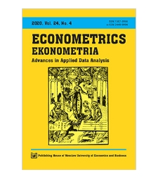 Spis treści [Econometrics = Ekonometria, 2020, Vol. 24, No. 4]