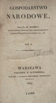 Elementarne zasady gospodarstwa narodowego. Tom II