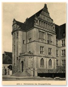 Budynki Politechniki Wrocławskiej 1910 rok