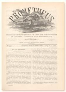 Prometheus : Illustrirte Wochenschrift über die Fortschritte in Gewerbe, Industrie und Wissenschaft. 11. Jahrgang, 1900, Nr 557