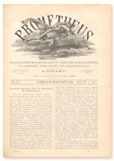 Prometheus : Illustrirte Wochenschrift über die Fortschritte in Gewerbe, Industrie und Wissenschaft. 11. Jahrgang, 1900, Nr 563
