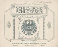 Schlesische Schloesser. Bd. 1