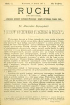 Ruch : dwutygodnik, poświęcony sprawom wychowania fizycznego i w ogóle normalnego rozwoju ciała, 1907.03.20 R. 2 nr 6 (24)