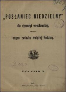 Posłaniec Niedzielny dla Dyecezyi Wrocławskiej. R. 10, 1904, nr 4