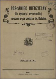 Posłaniec Niedzielny dla Dyecezyi Wrocławskiej. R. 11, 1905, nr 3