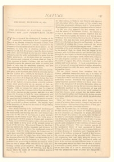 Nature : a Weekly Illustrated Journal of Science. Volume 7, 1872 December 26, [No. 165]