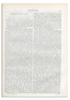 Nature : a Weekly Illustrated Journal of Science. Volume 17, 1878 March 14, [No. 437]