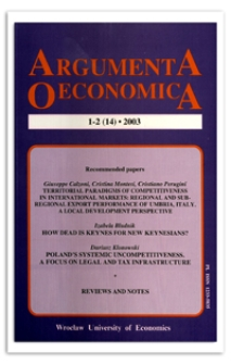 The changes in the structure of money supply in Poland and their macroeconomic consequences
