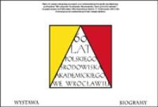 Wrocławskie Środowisko Akademickie : twórcy i ich uczniowie [Dokument elektroniczny]