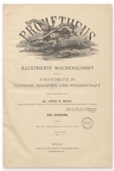 Prometheus : Illustrierte Wochenschrift über die Fortschritte in Gewerbe, Industrie und Wissenschaft. 23. Jahrgang, 1912, Nr 1196