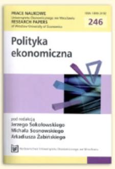 Efektywność publicznych uczelni technicznych w Polsce w latach 2007-2009. Prace Naukowe Uniwersytetu Ekonomicznego we Wrocławiu = Research Papers of Wrocław University of Economics, 2012, Nr 246, s. 403-412