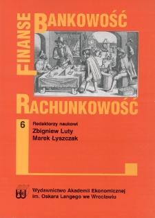 Koncepcja zrównoważonej karty wyników dla Wrocławia. Prace Naukowe Akademii Ekonomicznej im. Oskara Langego we Wrocławiu, 2008, Nr 1196, s. 100-112