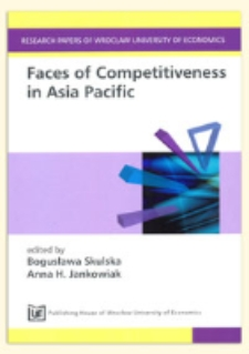 Business networks and the competitiveness of transnational corporations in East Asia. Prace Naukowe Uniwersytetu Ekonomicznego we Wrocławiu = Research Papers of Wrocław University of Economics, 2011, Nr 191, s. 163-172