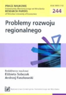Klasyfikacja podregionów Polski szczebla NUTS-3 ze względu na poziom rozwoju gospodarczego. Prace Naukowe Uniwersytetu Ekonomicznego we Wrocławiu = Research Papers of Wrocław University of Economics, 2012, Nr 244, s. 509-519