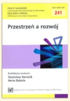 Władza lokalna a rynek - pomiędzy współpracą a konkurencją. Prace Naukowe Uniwersytetu Ekonomicznego we Wrocławiu = Research Papers of Wrocław University of Economics, 2011, Nr 241, s. 241-251