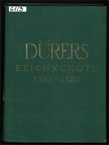Die Zeichnungen Albrecht Dürers. Bd. 3, 1510-1520