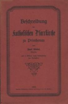 Beschreibung der katholischen Pfarrkirche zu Primkenau