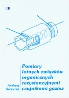 Pomiary lotnych związków organicznych rezystancyjnymi czujnikami gazów
