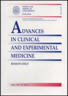 Advances in Clinical and Experimental Medicine, Vol. 13, 2004, nr 4