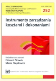 Koszty normatywne jako ważny instrument wspomagający zarządzanie gospodarstwem mlecznym - rozwiązania KTBL. Prace Naukowe Uniwersytetu Ekonomicznego we Wrocławiu = Research Papers of Wrocław University of Economics, 2012, Nr 252, s. 403-414