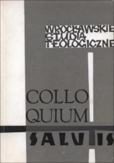 Colloquium Salutis : wrocławskie studia teologiczne. 6 (1974)