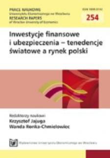 Przykład zastosowania metod analizy wielowymiarowej w analizie zarażania rynków finansowych. prace Naukowe Uniwersytetu Ekonomicznego we Wrocławiu = Research Papers of Wroclaw University of Economisc, 2012, Nr 254, s. 209-2018