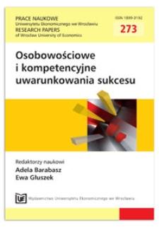 Zarządzanie kompetencjami w urzędzie gminy. Prace Naukowe Uniwersytetu Ekonomicznego we Wrocławiu = Research Papers of Wrocław University of Economics, 2012, Nr 273, s. 38-46