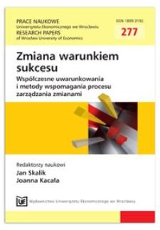 Granice organizacji sieciowej - z perspektywy komunikacyjnej. Prace Naukowe Uniwersytetu Ekonomicznego we Wrocławiu = Research Papers of Wrocław University of Economics, 2013, Nr 277, s. 341-349
