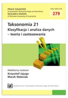 Benchmarkowa analiza estymacji dla małych obszarów na lokalnych rynkach pracy. Prace Naukowe Uniwersytetu Ekonomicznego we Wrocławiu = Research Papers of Wrocław University of Economics, 2013, Nr 279, s. 291-300