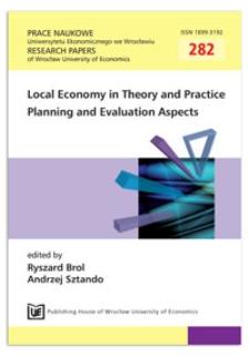 Theory and practice of local development strategic planning. Prace Naukowe Uniwersytetu Ekonomicznego we Wrocławiu = Research Papers of Wrocław University of Economics, 2013, Nr 282, s. 9-19
