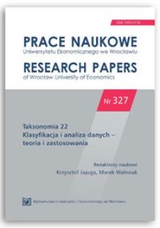 Zastosowanie pakietu dcMNM programu R w badaniach preferencji konsumentów wódki. Prace Naukowe Uniwersytetu Ekonomicznego we Wrocławiu = Research Papers of Wrocław University of Economics, 2014, Nr 327, s. 104-112