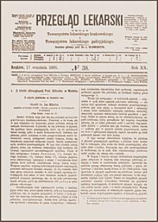 O użyciu jodoformu w leczeniu ran, Przegląd Lekarski, 1881, R. 20, nr 38, s. 493-495