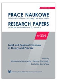 Convergence of Central and Eastern European regions – spatial aspect. Prace Naukowe Uniwersytetu Ekonomicznego we Wrocławiu = Research Papers of Wrocław University of Economics, 2014, Nr 334, s. 11-21