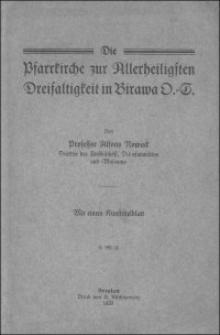 Die Pfarrkirche zur Allerheiligsten Dreifaltigkeit in Birawa O.-S.
