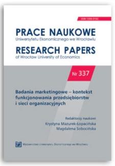 Zastosowanie benchmarkingu w badaniach klastrów. Prace Naukowe Uniwersytetu Ekonomicznego we Wrocławiu = Research Papers of Wrocław University of Economics, 2014, Nr 337, s. 249-260
