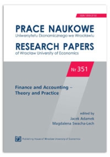 The application of classification and regression trees in the analysis of saving and credit decisions made by households. Prace Naukowe Uniwersytetu Ekonomicznego we Wrocławiu = Research Papers of Wrocław University of Economics, 2014, Nr 351, s. 98-115