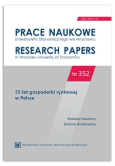 "The ""maturation"" of markets during the economic transition – the case of housing markets in Poland after 1989. Prace Naukowe Uniwersytetu Ekonomicznego we Wrocławiu = Research Papers of Wrocław University of Economics, 2014, Nr 352, s. 91-102"