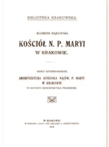 Kościół N. P. Maryi w Krakowie