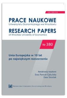 Nowy model europejskiej polityki spójności i jego możliwe konsekwencje dla rozwoju społeczno-gospodarczego w Polsce