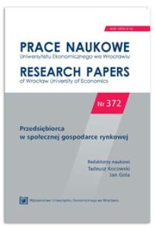 Nieuczciwość praktyki rynkowej w świetle ustawy o przeciwdziałaniu nieuczciwym praktykom rynkowym. Prace Naukowe Uniwersytetu Ekonomicznego we Wrocławiu = Research Papers of Wrocław University of Economics, 2014, Nr 372, s. 135-149