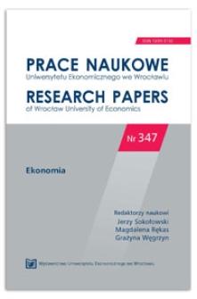 Sezonowość bezrobocia w krajach Unii Europejskiej. Prace Naukowe Uniwersytetu Ekonomicznego we Wrocławiu = Research Papers of Wrocław University of Economics, 2014, Nr 347, s. 391-399