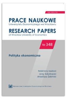 Efekty produkcji gospodarstw w Polsce w odniesieniu do WPR w latach 2005-2008. Prace Naukowe Uniwersytetu Ekonomicznego we Wrocławiu = Research Papers of Wrocław University of Economics, 2014, Nr 348, s. 22-33