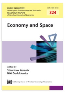 Contemporary spatial planning and case of Poland. Prace Naukowe Uniwersytetu Ekonomicznego we Wrocławiu = Research Papers of Wrocław University of Economics, 2013, Nr 324, s. 104-116