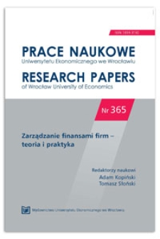 Resource policy of Ukrainian banks in relationships with non-financial corporation: practical aspects. Prace Naukowe Uniwersytetu Ekonomicznego we Wrocławiu = Research Papers of Wrocław University of Economics, 2014, Nr 365, s. 207-218