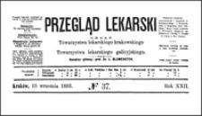 Dwa przypadki osteoplastycznej resekcji stopy według własnej metody, Przegląd Lekarski, 1883, R. 22, nr 37, s. 455-457