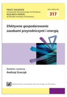 Warunki i ograniczenia rozwoju energetyki jądrowej w Polsce. Prace Naukowe Uniwersytetu Ekonomicznego we Wrocławiu = Research Papers of Wrocław University of Economics, 2013, Nr 317, s. 107-119